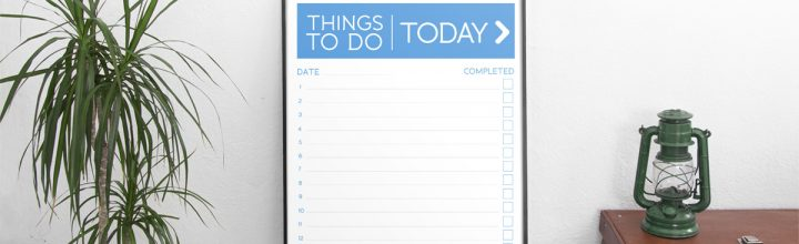 Free Downloadable To-Do List!